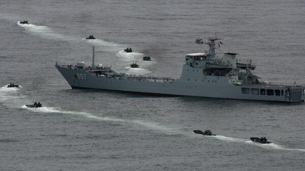 Корабль ВМС Китая. Архивное фото