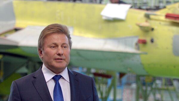 Генеральный директор корпорации МиГ Сергей Коротков. Архивное фото