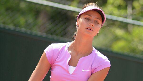 Теннисистка Елизавета Куличкова. Архивное фото