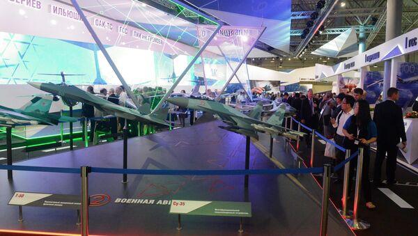 Международный авиационный - космический салон МАКС 2015. Архивное фото