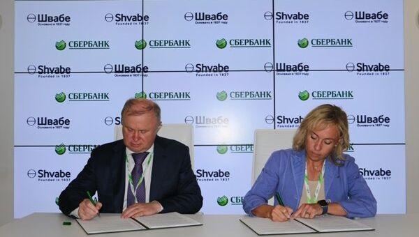 Холдинг Швабе и Сбербанк России подписали договор на МАКС-2015