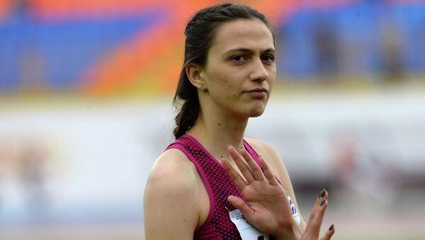 Российская легкоатлетка Мария Кучина. Архивное фото