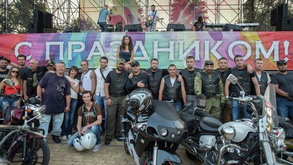 Праздничные мероприятия, посвященные Дню города и Дню шахтера в Донецке