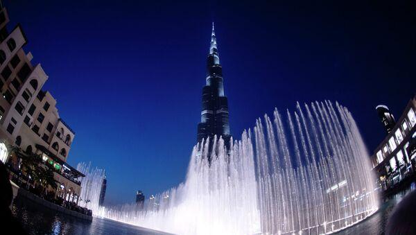 Города мира. Дубай. Архивное фото