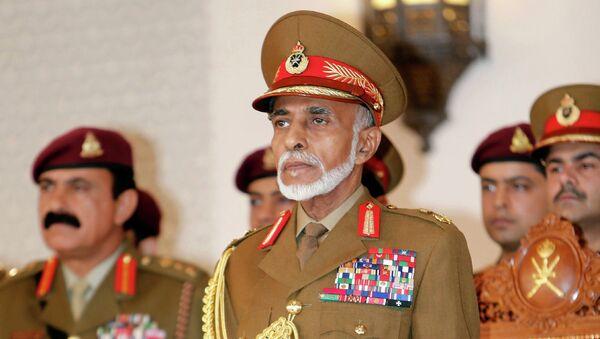 Султан Омана Кабус бен Саид. Архивное фото