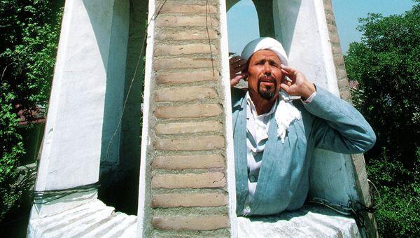Призыв на молитву в Ташкенте