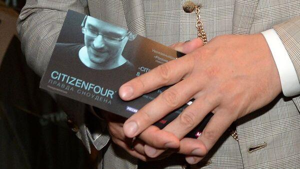 Премьера фильма Citizenfour. Правда Сноудена