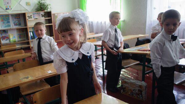 Школа имени фотокорреспондента МИА Россия сегодня Андрея Стенина в городе Снежное ДНР