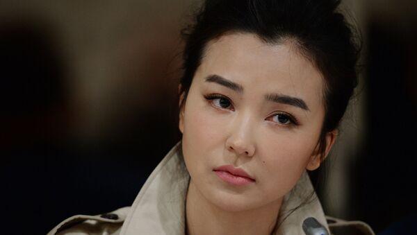 Актриса Синтун Яо, занятая в фильме Вий - 2. Путешествие в Китай. Архивное фото