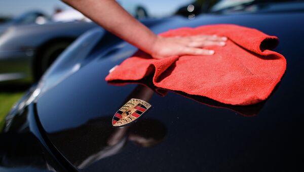 Выставка Porsche Classics at the Castle в Лондоне