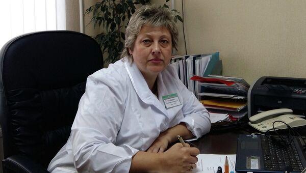 Главный врач Городской детской поликлиники N 6 г. Рязань Светлана Сущенко