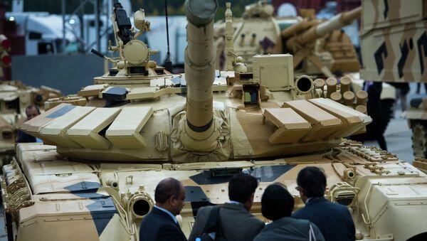 Участники международной выставки Russia arms expo. Архивное фото