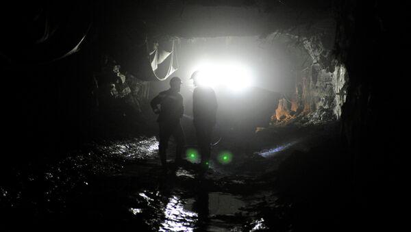 Работа рудника. Архивное фото