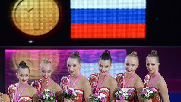 Художественная гимнастика. Чемпионат мира. Шестой день
