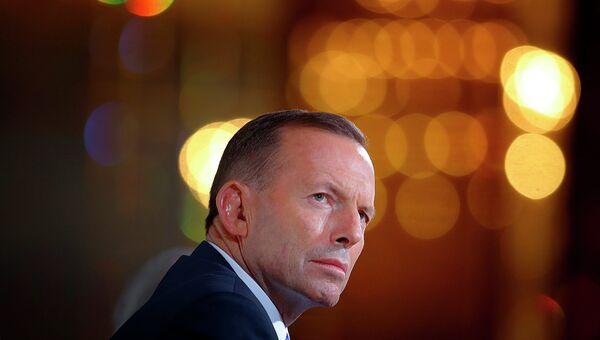 Экс-премьер-министр Австралии Тони Эббот. Архивное фото