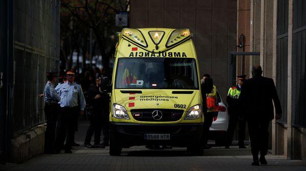 Машина скорой помощи в Испании