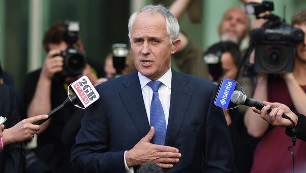 Австралийский политик, министр связи страны Малкольм Тернбулл. Архивное фото