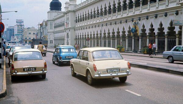 Столица Малайзии Куала-Лумпур. Архивное фото