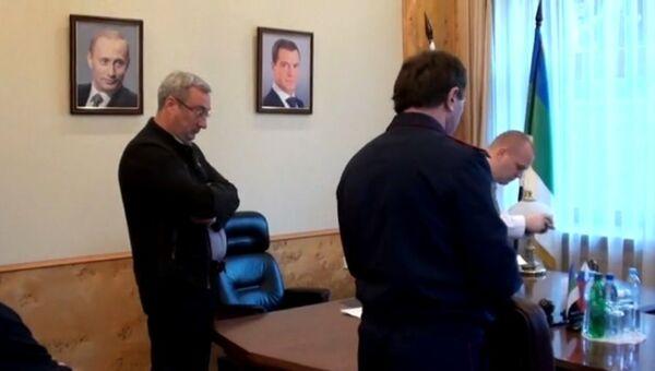 Обыск в кабинете главы Республики Коми Вячеслава Гайзера. Архивное фото