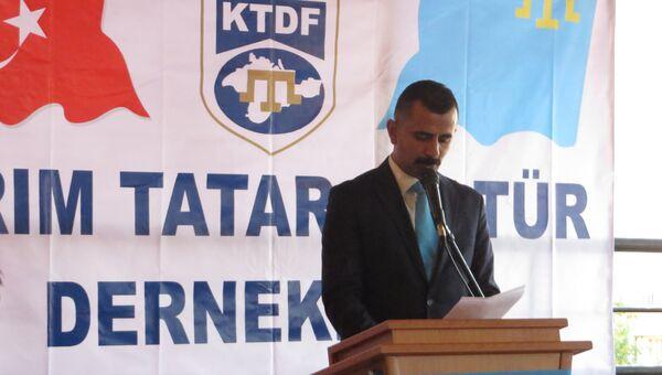 Советник главы Федерации культурных союзов крымских татар в Турции Ягыз Кызылкая