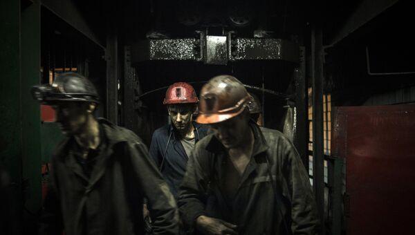 Работа шахты. Архивное фото