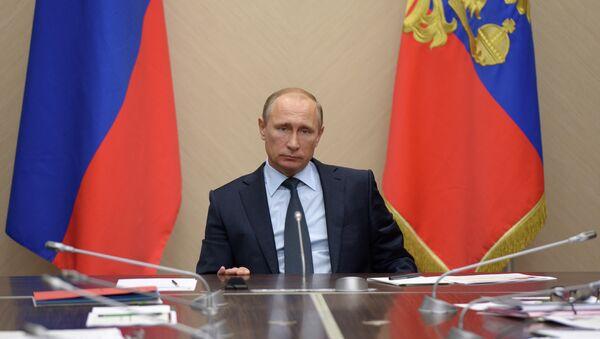 Президент РФ В.Путин провел совещание по бюджетным проектировкам на 2016 год