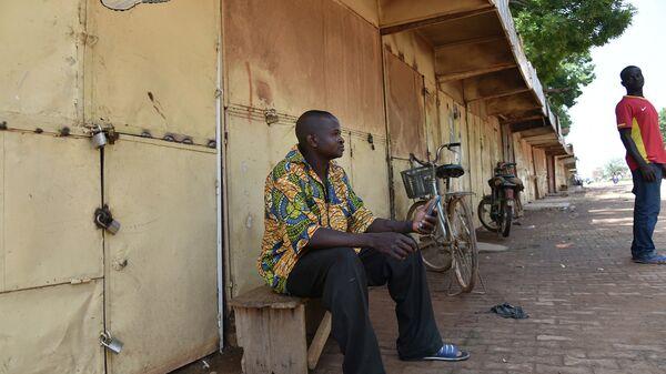 Ситуация в столице Буркина-Фасо городе Уагадугу. Архивное фото
