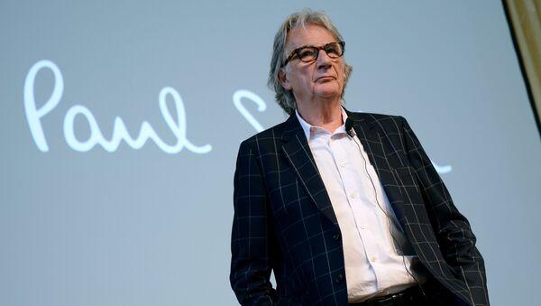 Дизайнер Пол Смит во время своей пресс-конференции в Москве. Архивное фото