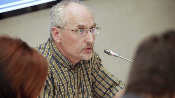 Эдуард Карюхин, геронтолог, руководитель фонда Доброе дело
