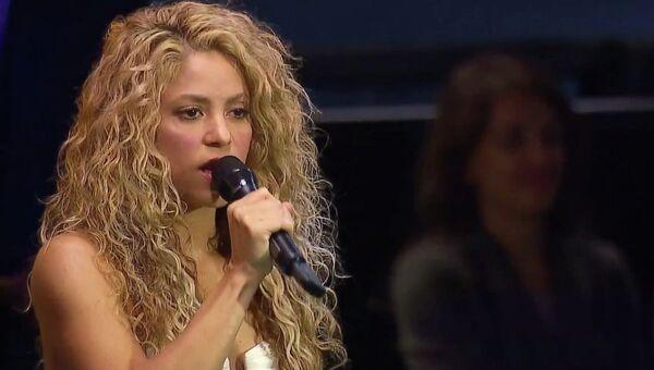 Шакира спела знаменитую песню Джона Леннона на Генассамблее ООН