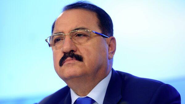 Чрезвычайный и Полномочный посол Сирийской Арабской Республики в Российской Федерации Рияд Хаддад. Архивное фото