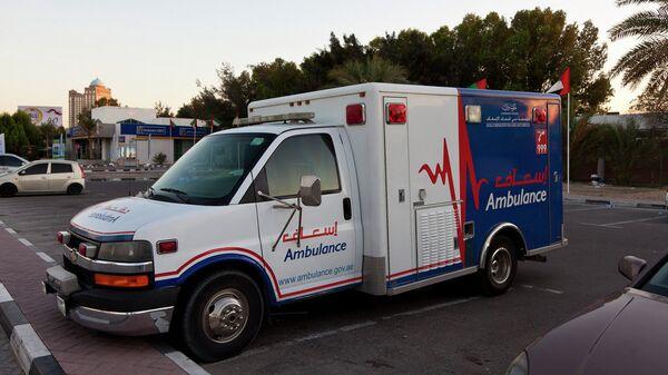 Машина скорой помощи в ОАЭ