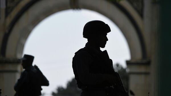 Афганские полицейские, архивное фото
