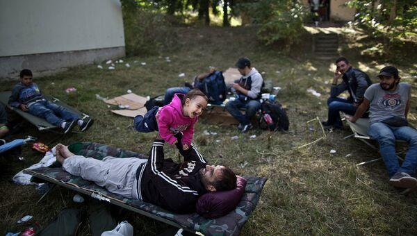 Беженцы в городе Бели-Манастир, Хорватия. Архивное фото