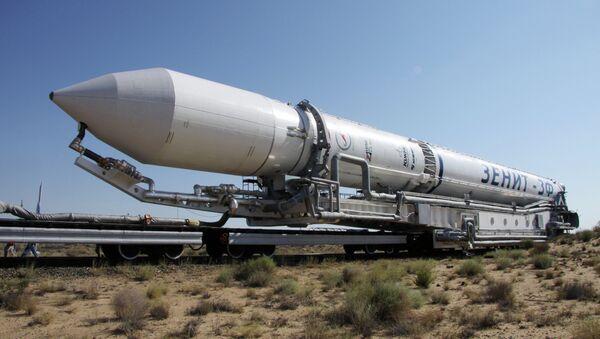 Ракета космического назначения Зенит-3М. Архивное фото