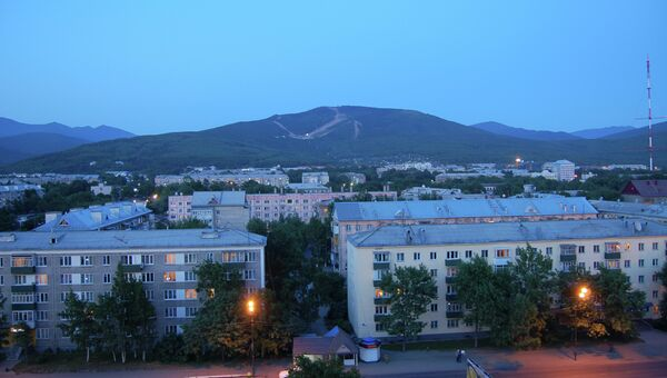 Южно-Сахалинск. Архивное фото