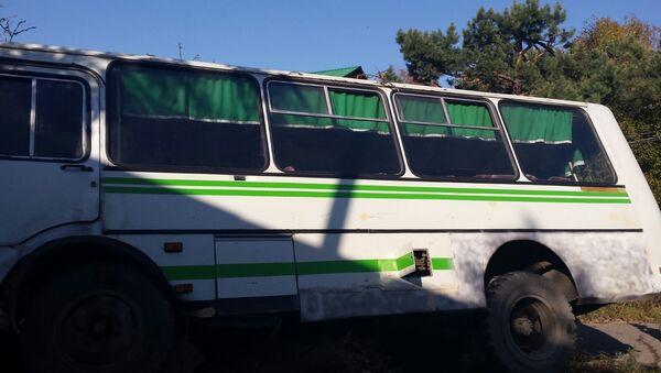 На месте ДТП со школьным автобусом под Хабаровском