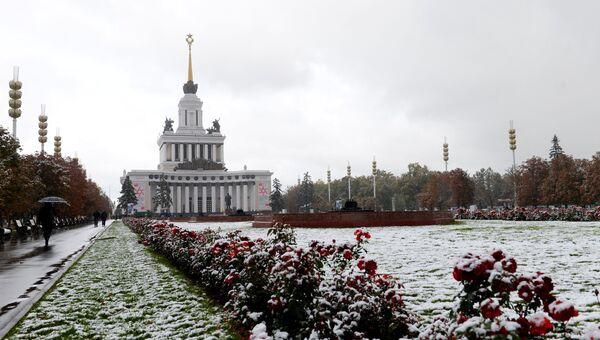 Павильон Центральный на ВДНХ в Москве. Архивное фото.
