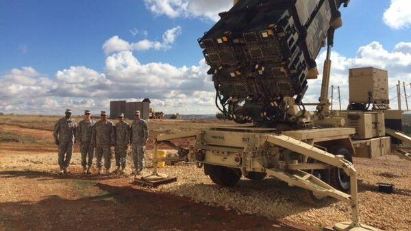 Американские ракеты Patriot в Турции. Архивное фото