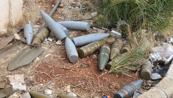 Освобожденный сирийской армией при поддержке российской авиации город Аль-Бахса