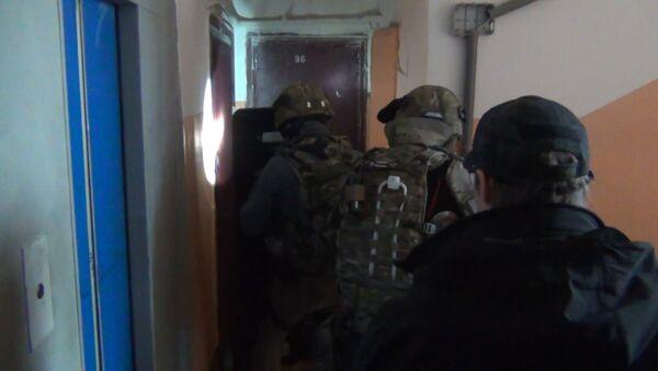 Сотрудники НАК задержали предполагаемых террористов в Москве. Кадры операции
