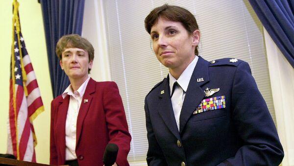 Подполковник ВВС США Марта Максалли