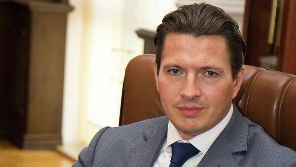 Глава Российского национального коммерческого банка Руслан Арефьев