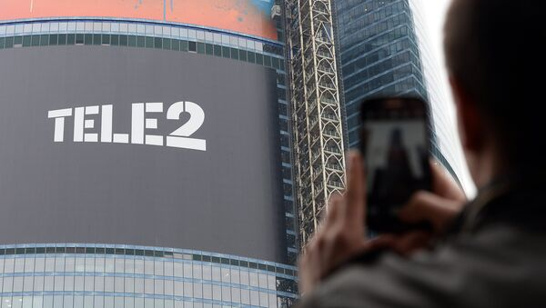 Мобильный оператор Tele2. Архивное фото