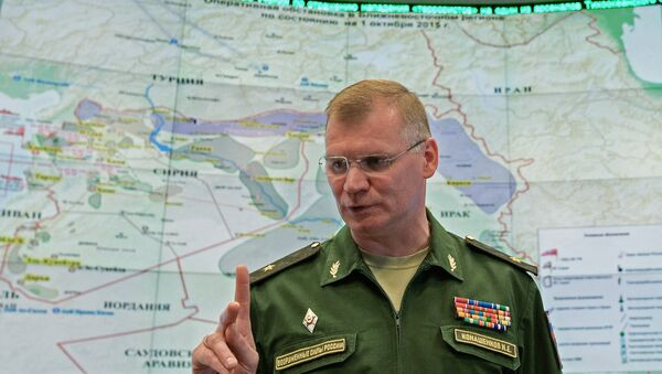 Начальник управления пресс-службы и информации военного ведомства генерал-майор Игорь Конашенков. Архивное фото
