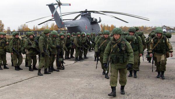 Летно-тактические учения ВДВ в Псковской области