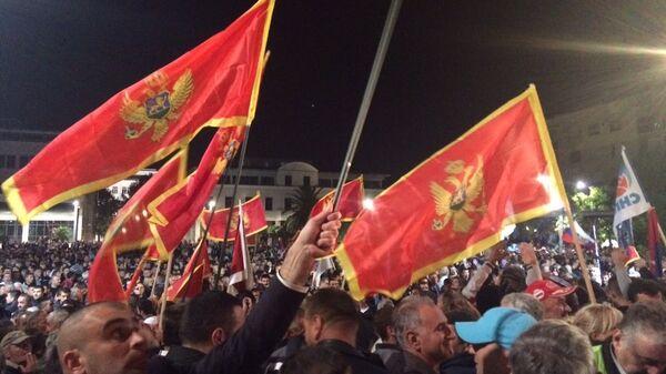 Протесты в Черногории. Октябрь 2015