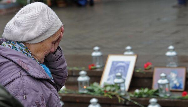 Памятная церемония, посвященная XIII годовщине со дня трагедии на Дубровке. Архивное фото