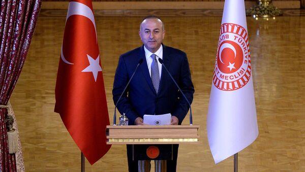 Замглавы партии справедливости и развития Турции Мевлют Чавушоглу. Архивное фото