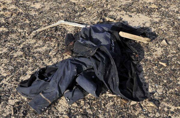 На месте крушения самолета Когалымавиа в Египте. 31 октября 2015